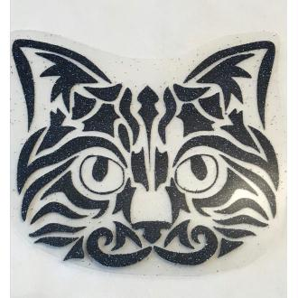 Motif thermocollant Chat tribal