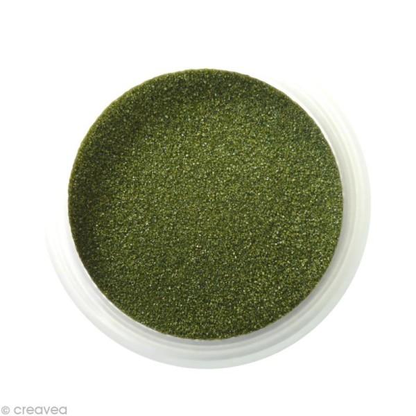 Sable fin coloré - Vert olive 8 - 45 gr - Photo n°1