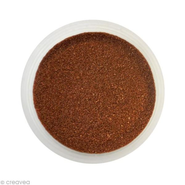 Sable fin coloré - Marron chocolat 28 - 45 gr - Photo n°1