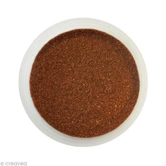 Sable fin coloré - Marron chocolat 28 - 45 gr