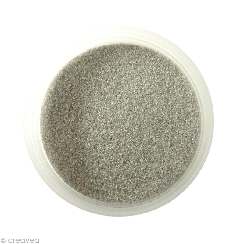 Sable fin color gris clair 15 45 gr recharge - Couleur sable fin ...