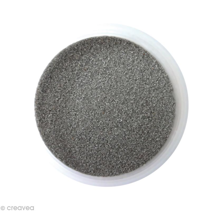 Sable fin color gris moyen 14 45 gr recharge - Couleur sable fin ...