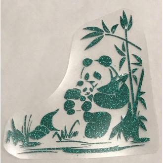 Motif thermocollant  Panda et son bébé