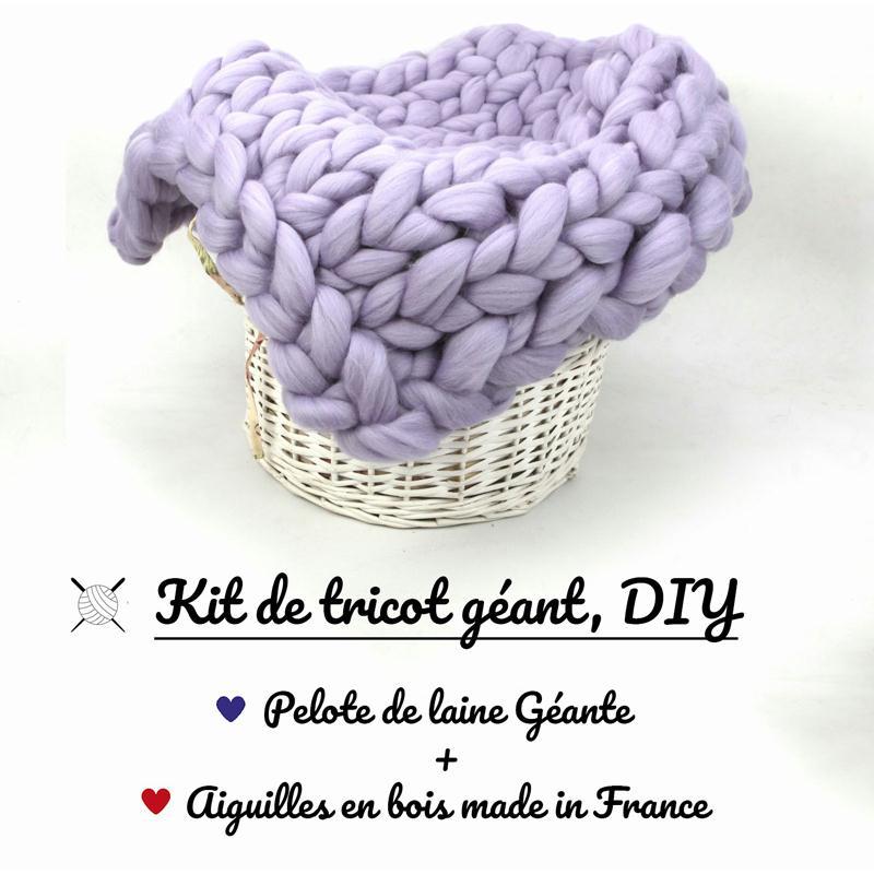 5 kilos de laine kit de tricot g ant avec laine et for Le geant du meuble la valette