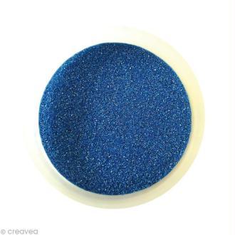 Sable fin coloré métallisé - Bleu 43 - 45 gr