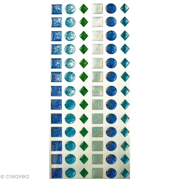Stickers epoxy enfant 12 mm Garçon x 78 - Photo n°1