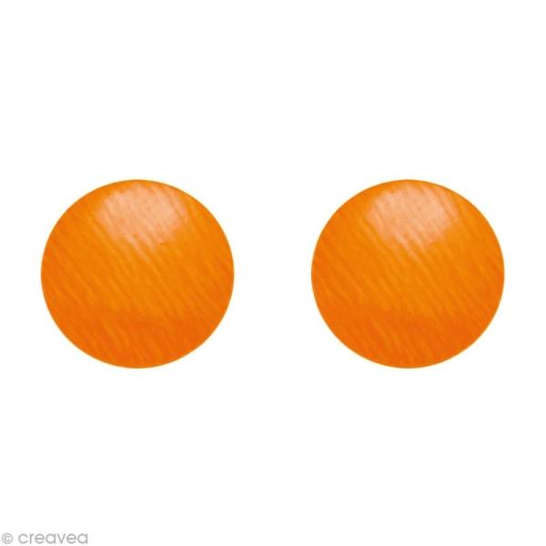 Clou thermocollant Orange fluo x 176 - Photo n°1