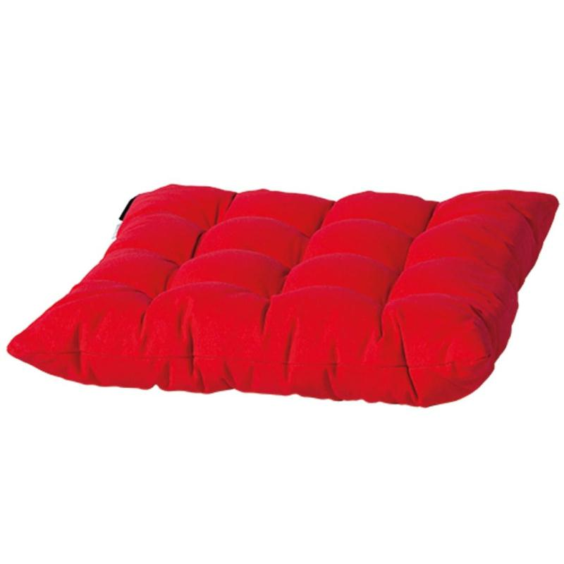 Madison coussin de si ge panama 46 x 46 cm rouge toscb220 - Coussins pour fauteuil de jardin ...