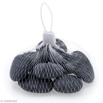 Galets gris à décorer - 20 à 30 mm - 10 pcs