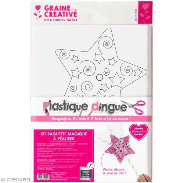 Kit plastique dingue - Baguette magique - Photo n°1