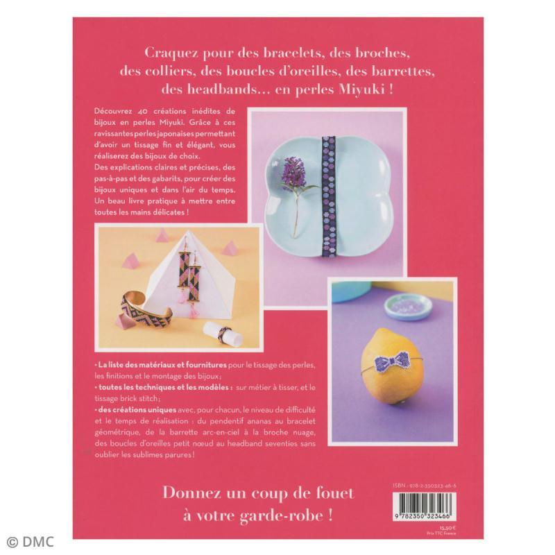 Livre loisirs créatifs - Bijoux en perles Miyuki - Photo n°2