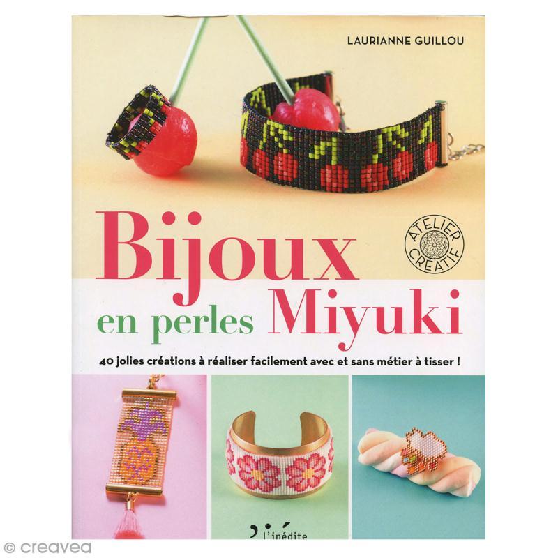 Livre loisirs créatifs - Bijoux en perles Miyuki - Photo n°1