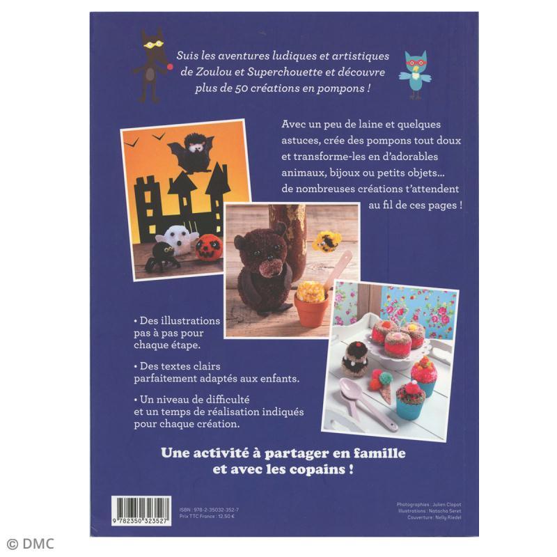 Livre loisirs créatifs - Petites créa faciles pompons - Photo n°2