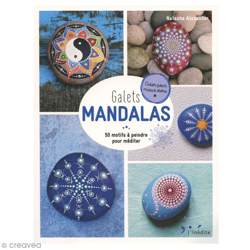 Livre loisirs créatifs - Galets Mandalas - Photo n°1