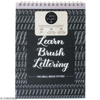Cahier de calligraphie Kelly Creates - Lettering pointe fine - 122 pages