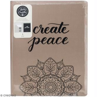 Chemise de rangement pour bloc de feuilles  Kelly Creates - 24 x 31 cm - 1 carnet inclus