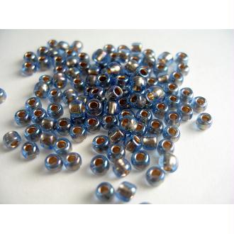 10G Perles Rocaille Toho Saphir Transp Arc En Ciel 6/0 (4Mm)