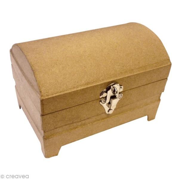 Boîte à bijoux en carton 19 cm - Photo n°1