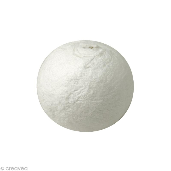 Boule de cellulose Blanc 3 cm x 50 - Photo n°1