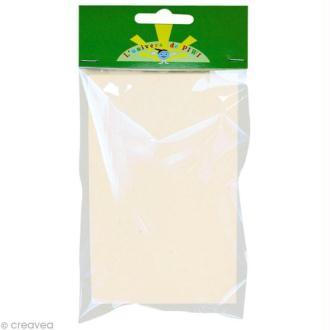 Feuille adhésive polyphane 10 x 14 cm pour tableau de sable x 6