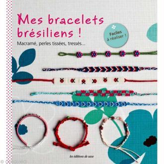 Livre Mes bracelets brésiliens