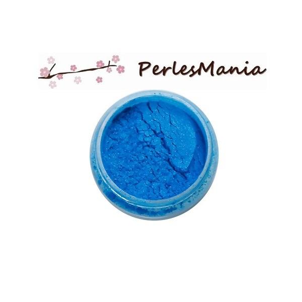 1 Boite poudre de Paillette pour Création RESINE couleur BLEU S1192368 - Photo n°1