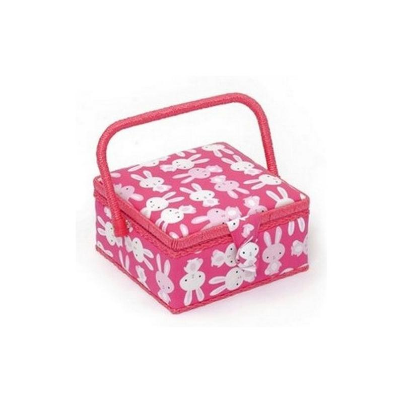 Bo te couture bunny boite rangement couture creavea for Acheter boite couture