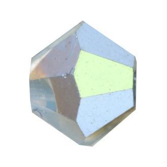 Toupie 4 mm Swarovski white opal star shine x10