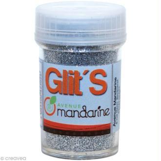 Paillettes Glit's Argent x 14 gr