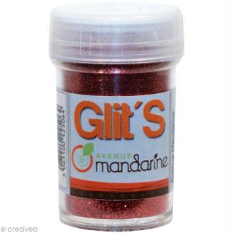 Paillettes Glit's Rouge x 14 gr