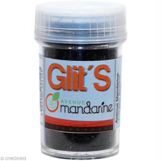Paillettes Glit's Noir x 14 gr