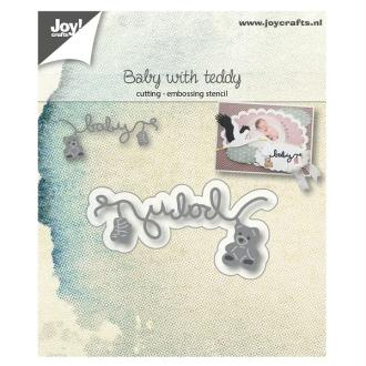 Die Joy Crafts - baby with teddy