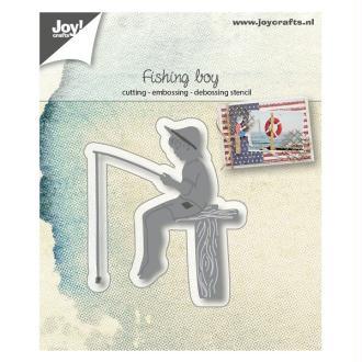 Die Joy Crafts - Fishing boy
