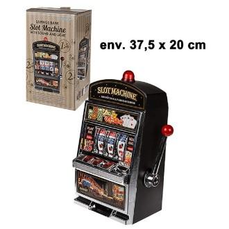 Jouet machine à sous lumineuse et sonore 37 x 20 cm