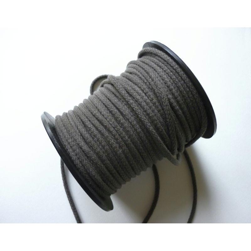 corde coton 5 mm marron macram couture bijoux au m tre cordon tress creavea. Black Bedroom Furniture Sets. Home Design Ideas
