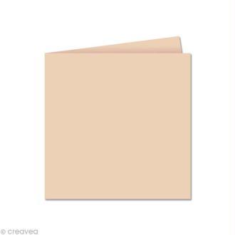 Papier Pollen carte double 135 x 135 Opaline x 25