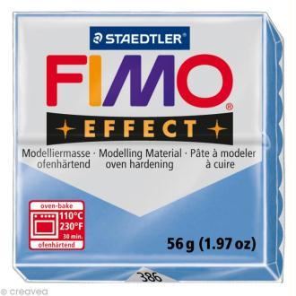 Fimo Effect Bleu agate 386 - 56 gr