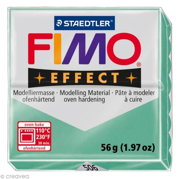 Pâte Fimo Effect Vert jade 506 - 56 gr - Photo n°1