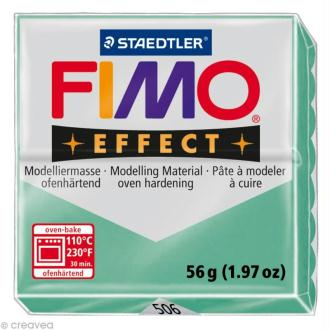 Pâte Fimo Effect Vert jade 506 - 56 gr