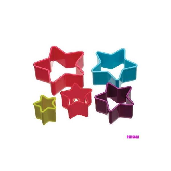 Emporte-pièces étoiles Colourworks x5 - Photo n°2