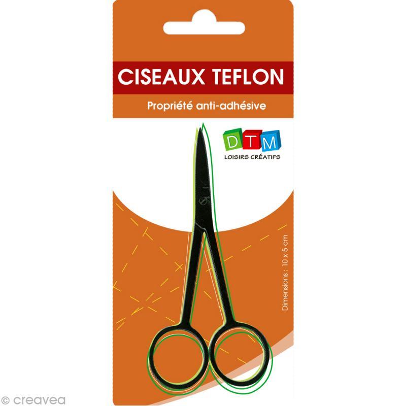 Ciseaux téflon 10,5 cm - anti adhésif - Photo n°1