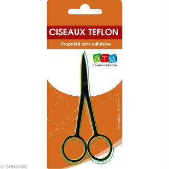 Ciseaux téflon 10,5 cm - anti adhésif