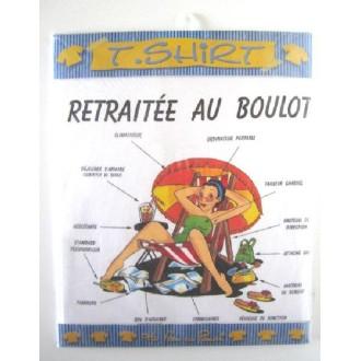 T-shirt humoristique retraite - Taille L