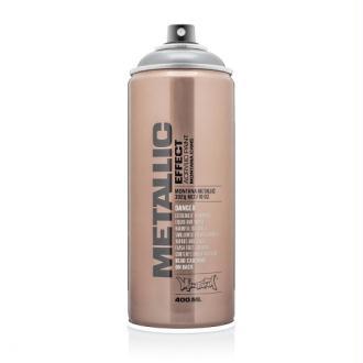 Bombe de peinture Argent Metallic 400ml - Montana