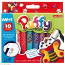 Peinture Puffy gonflante - 10 crayons de peinture 3D - Photo n°1