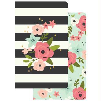 Lot de 2 Notebook Bloom pour traveler carnet Simple Stories