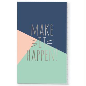 Notebook Posh doc it Make it happen pour traveler carnet Simple Stories