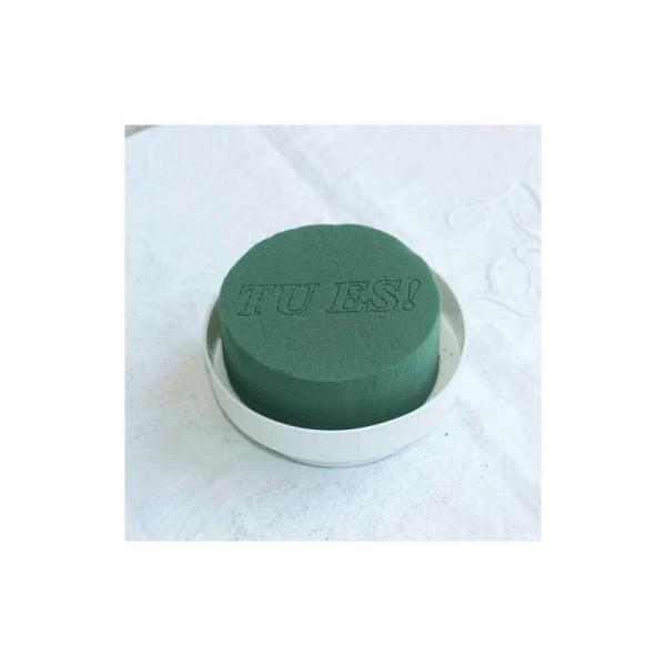 Kit pour centre de table rond. Coupelle 10 cm - cylindre 8 cm -hauteur 6 cm - Photo n°1