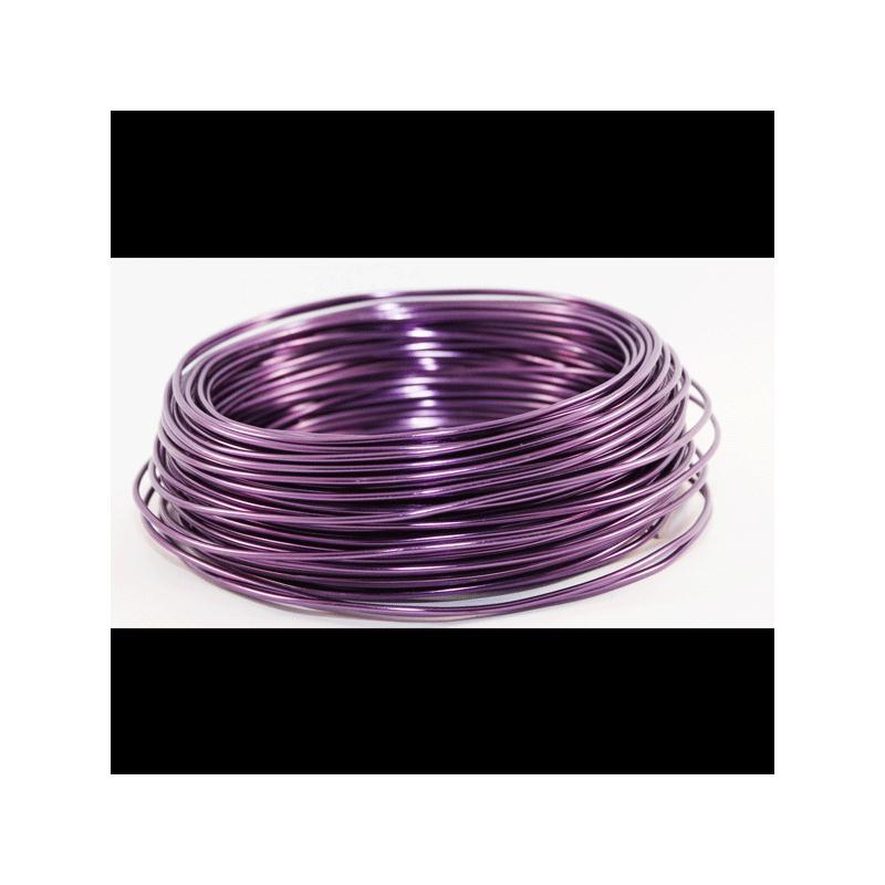 fil aluminium violet diam tre 2 mm vendu au m tre fil. Black Bedroom Furniture Sets. Home Design Ideas