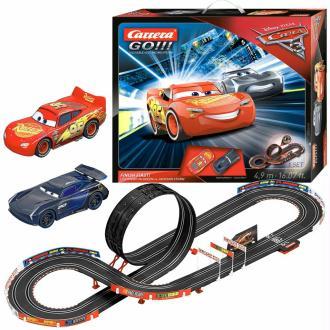 Carrera GO Jeu de voiture et piste Cars 3 Finish First 1:43 20062418
